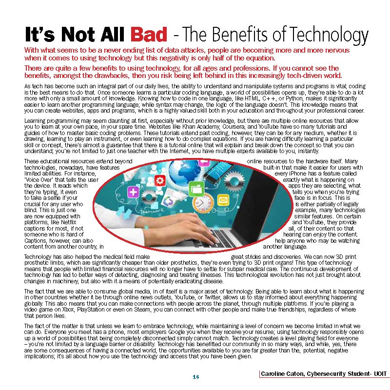 Benefits of Technology