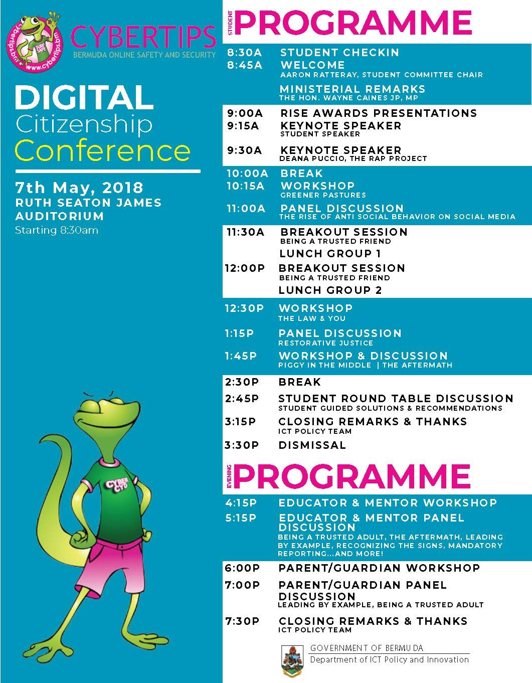 Digital Citizenship Conference Programme