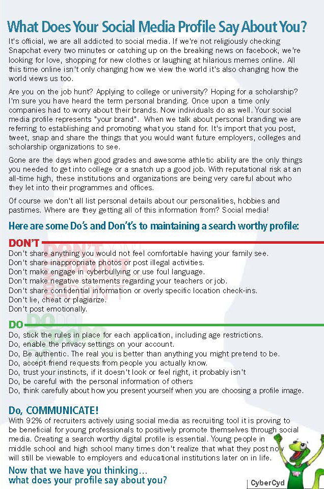 Social Media Dos and Donts